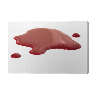 Puddle of blood png. Canvas print pixers we