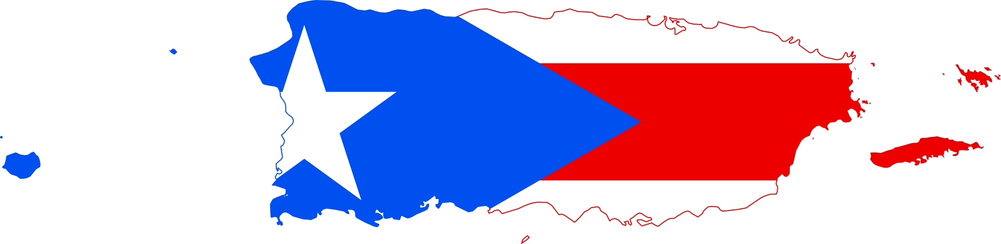 Puerto rico map png. File flag of svg