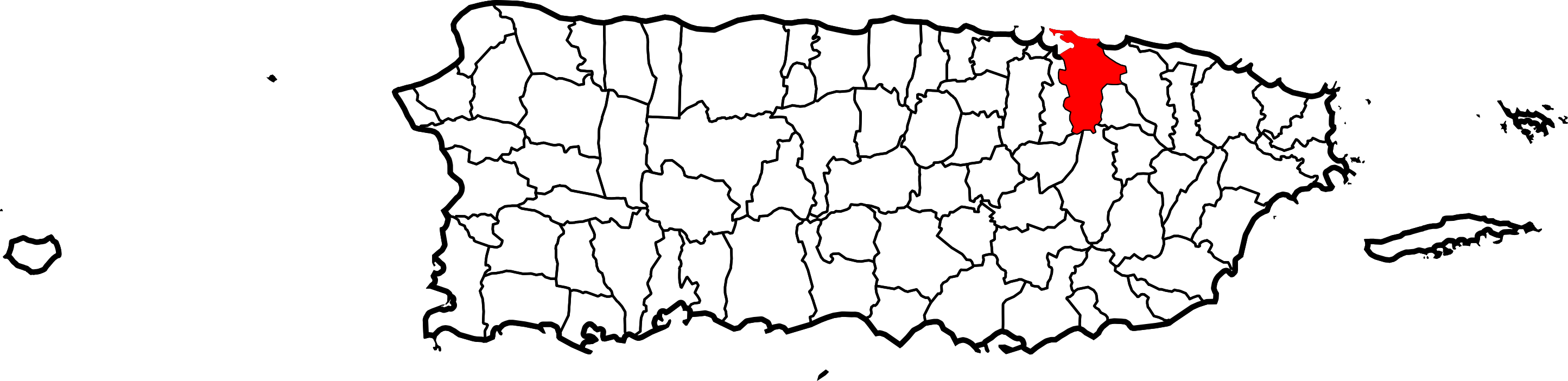 Puerto rico map png. File of highlighting san