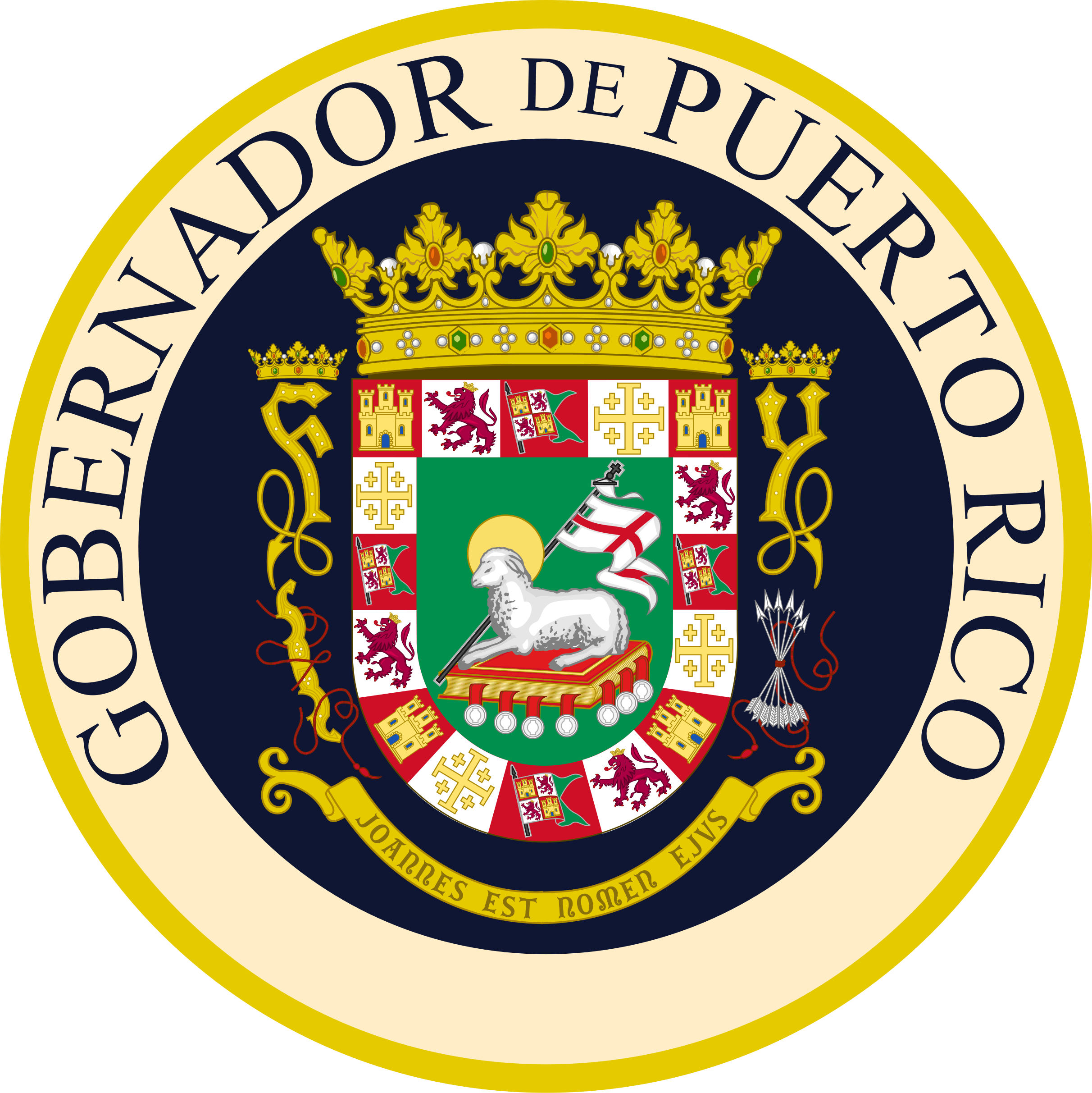 Puerto rico seal png. File of the governor