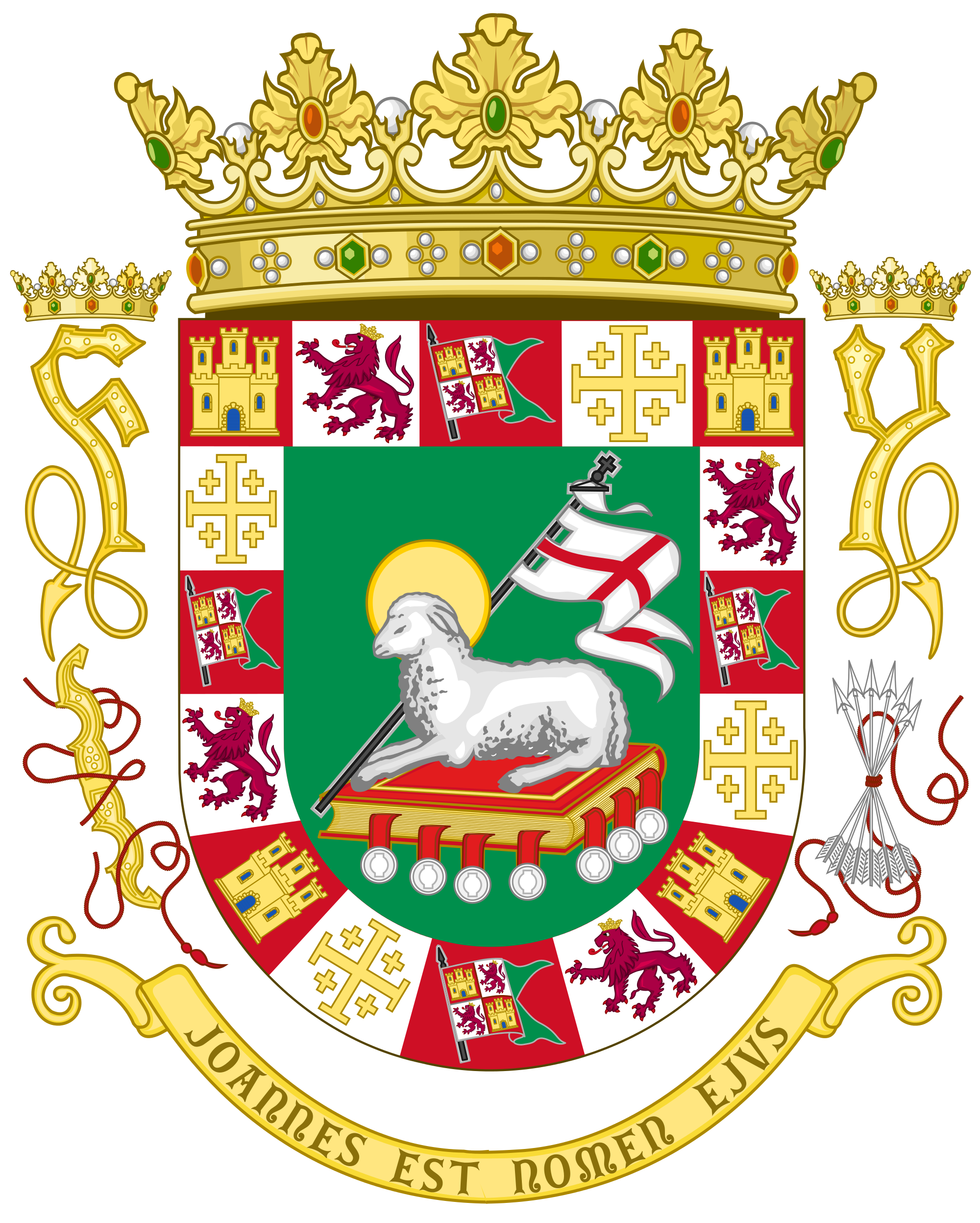 Puerto rico seal png. File coat of arms
