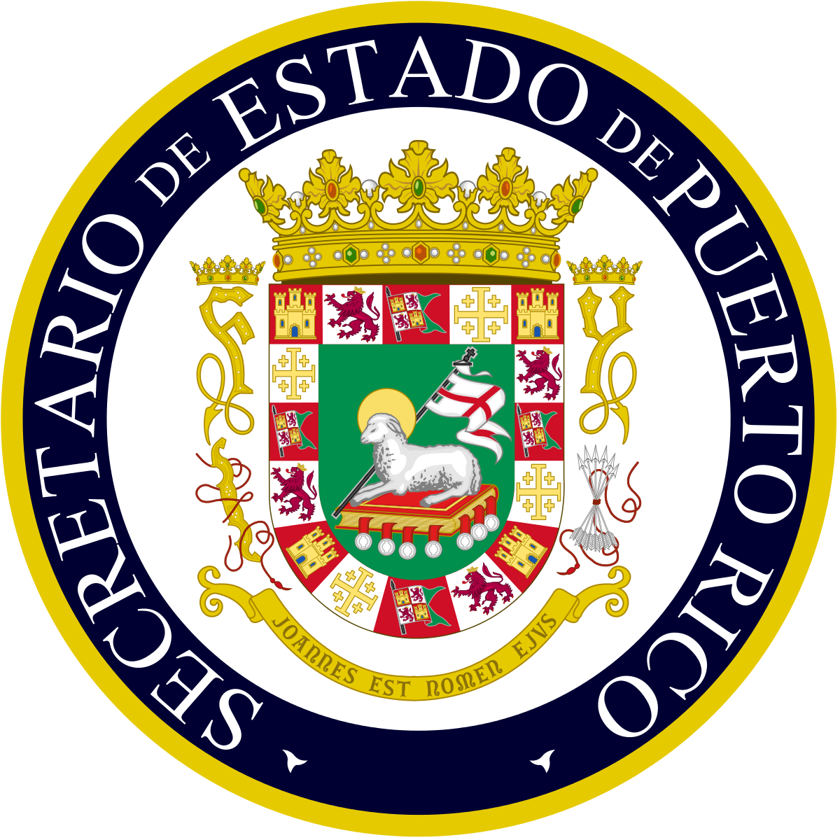 Puerto rico seal png. Secretary of state wikipedia