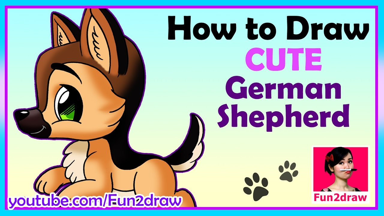 Pug clipart fun 2 draw. How to a dog