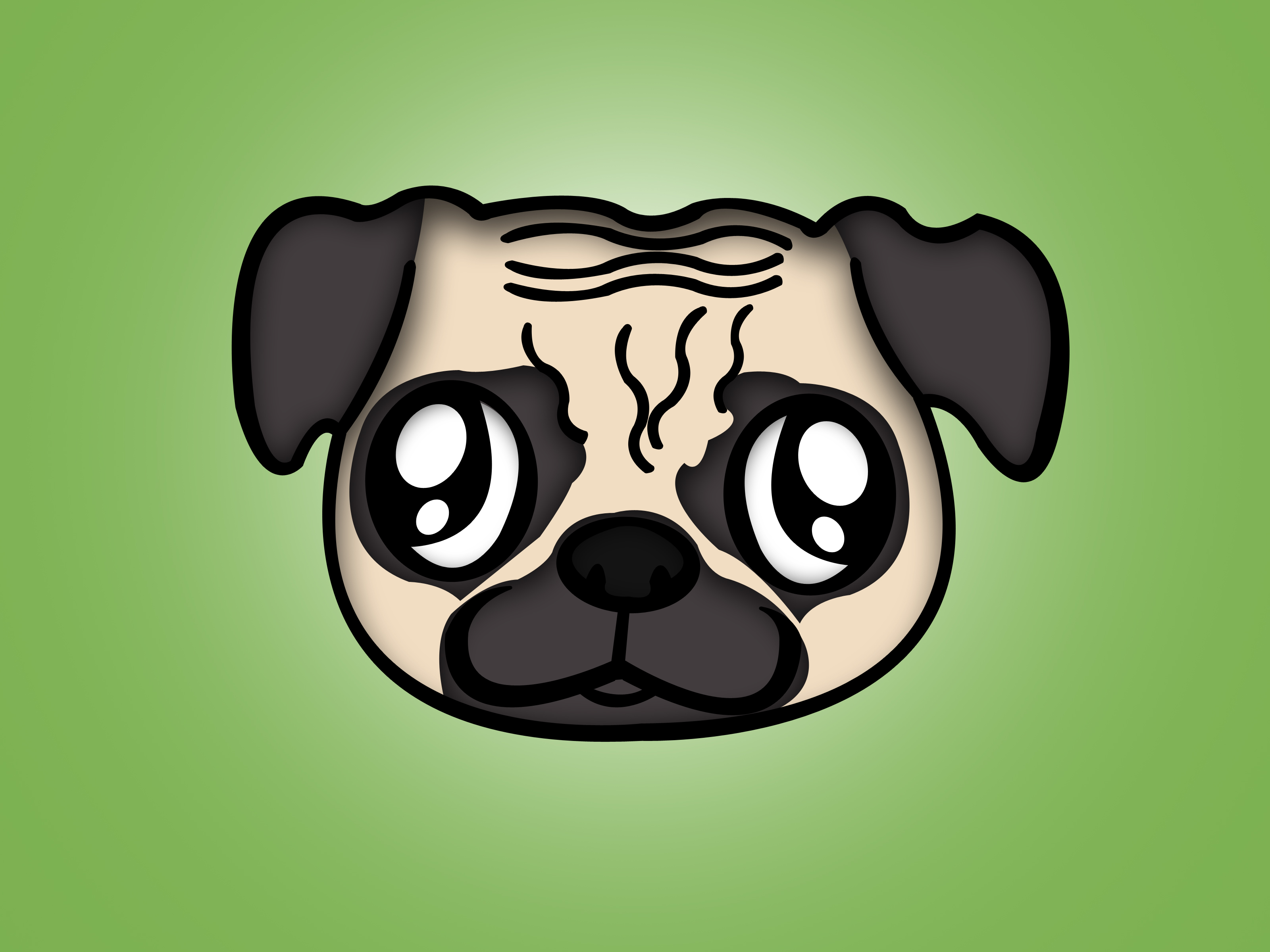 Pug clipart pencil. How to draw a