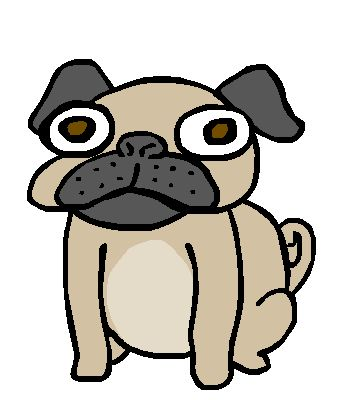 Pug clipart pin the tail on. At getdrawings com free