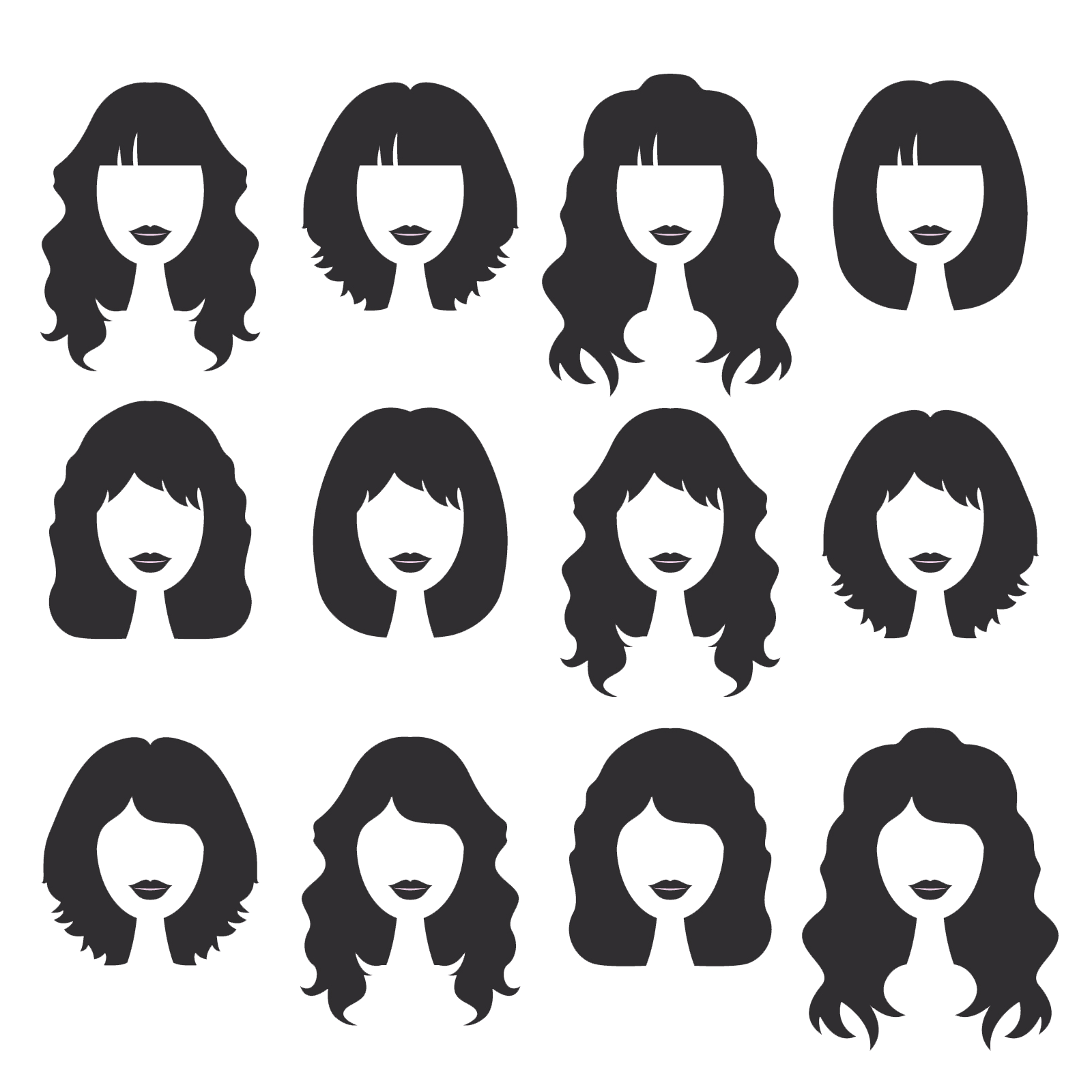 Pull hair out png. Hairstyle beauty parlour variety