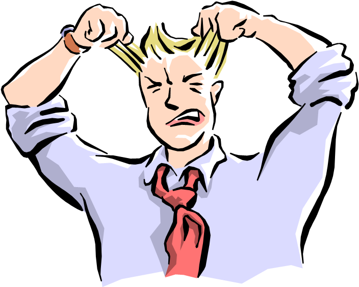Pulling hair out png. Download employee zoopworld man