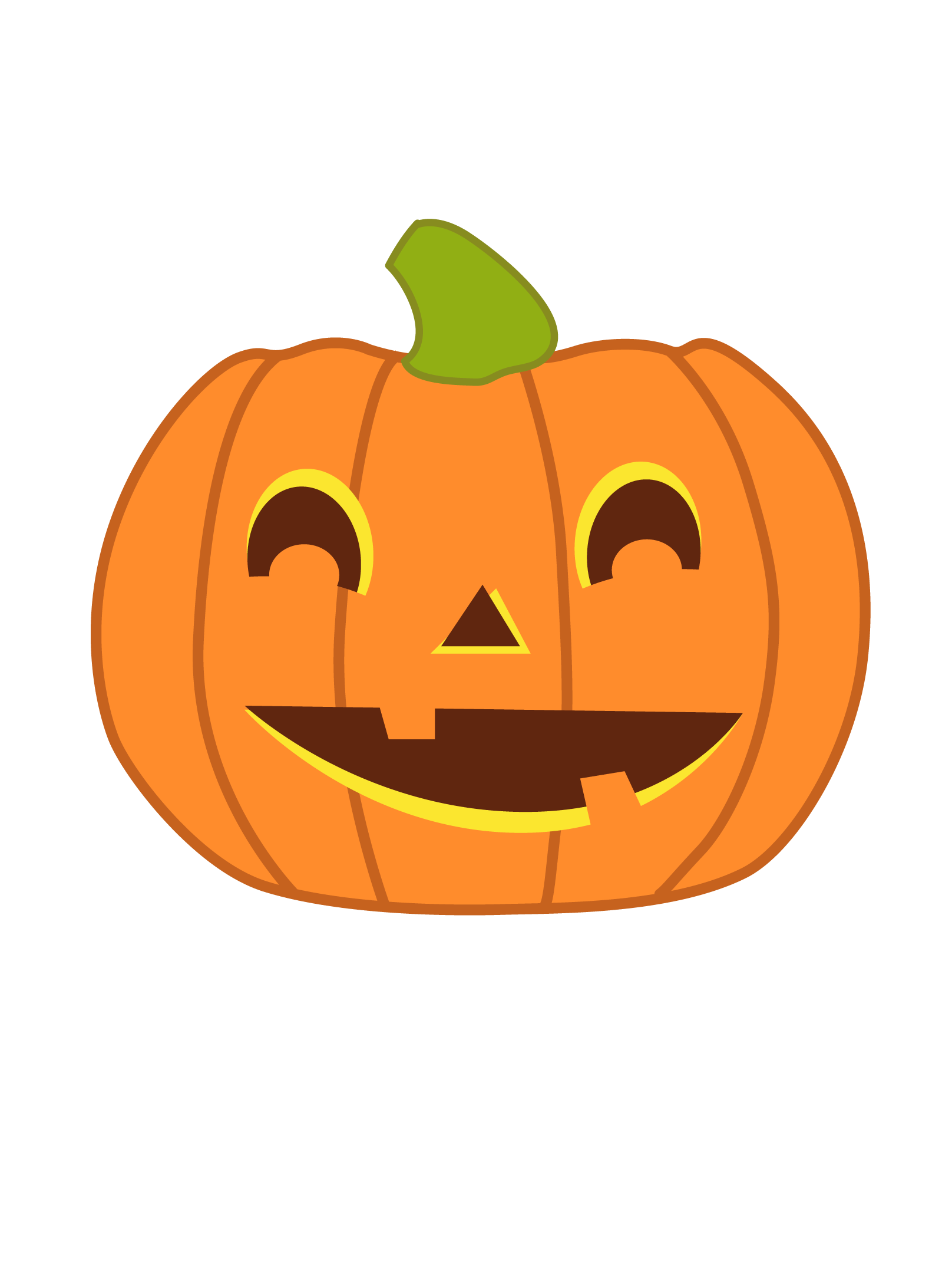 Pumkin vector cute. Chevron pumpkin royalty