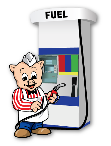 Pump clipart gas card. Pig points piggly wiggly