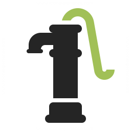 Pump clipart hand pump. Icon iconexperience professional icons
