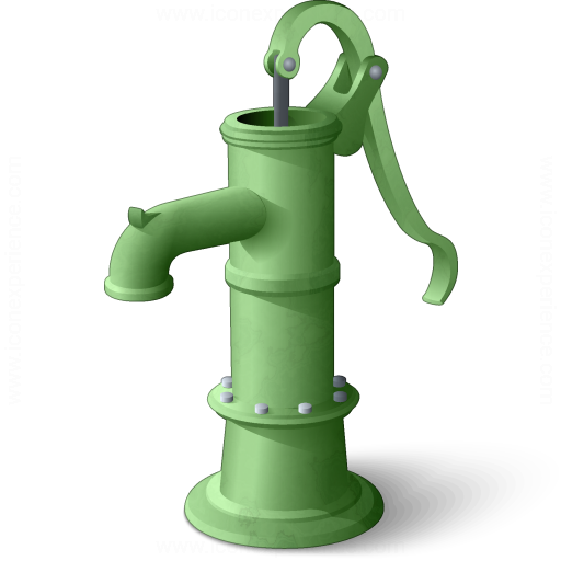 Pump clipart hand pump. Iconexperience v collection icon