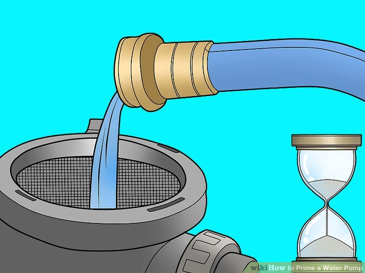 Pump clipart submersible pump. How to prime a