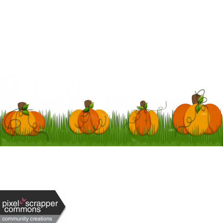 Pumpkin border png. Patch page graphic by
