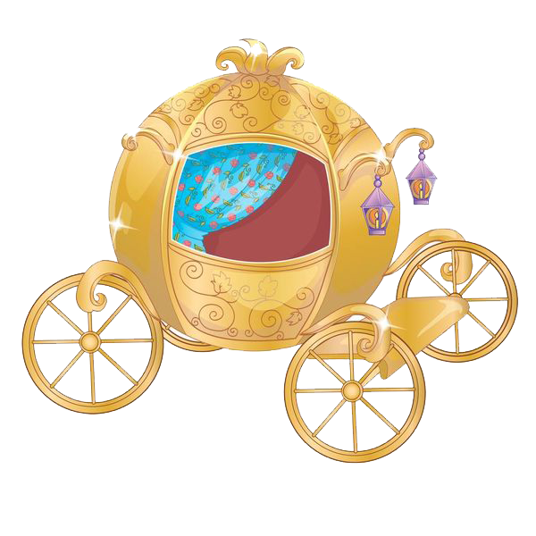 Pumpkin carriage png. Cinderella horse drawn vehicle