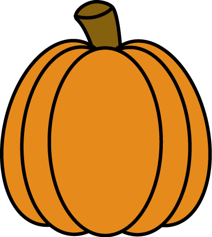 Pumpkin clip tall. Image freeuse download