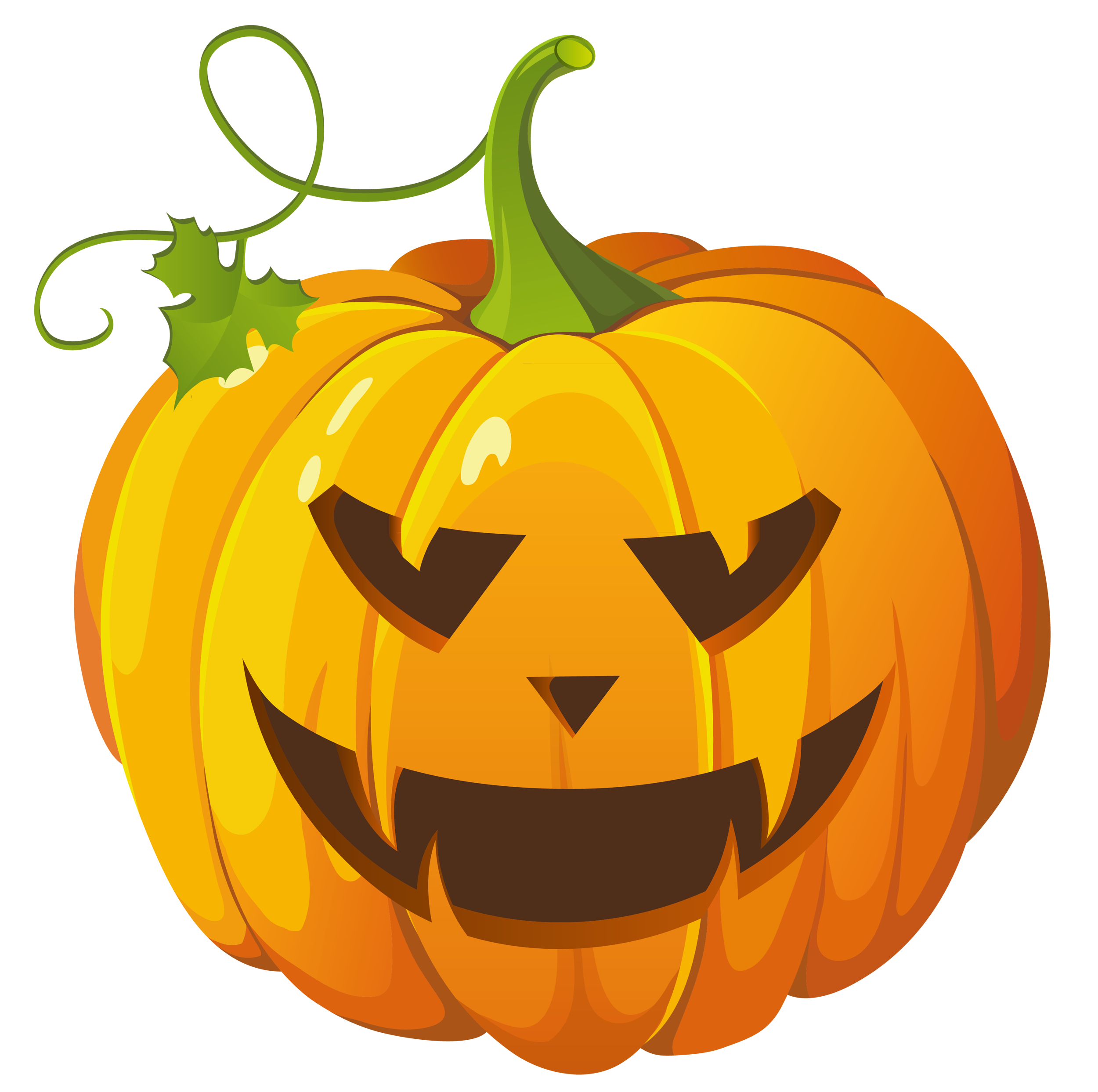 Pumpkins vector pumkin. Collection of free hollowing