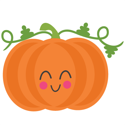 Cute pumpkin png. Clipart svg scrapbook cut