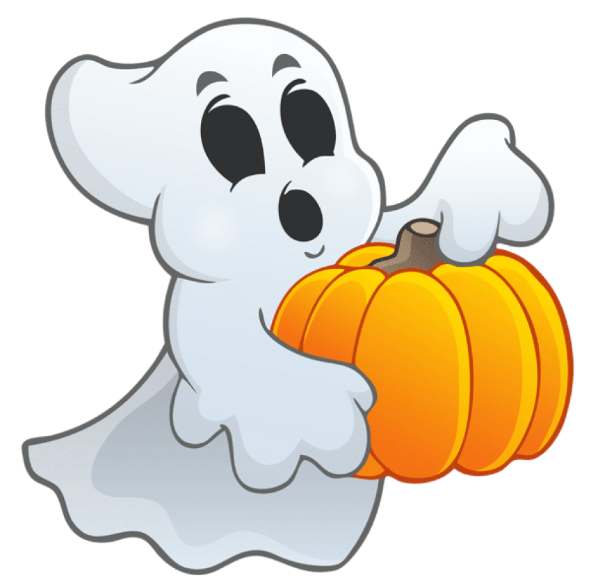 Halloween png ghost. Download with pumpkin images