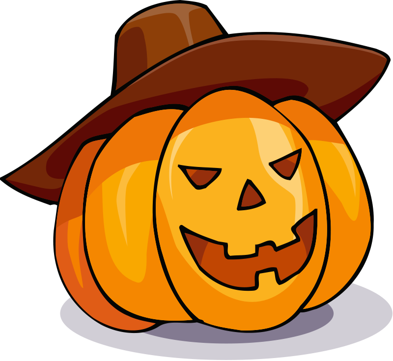 Jackolantern vector cute. Free witch clipart download
