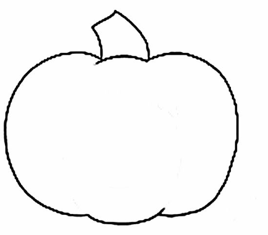 Pumpkin clipart simple. Outline searchya search results