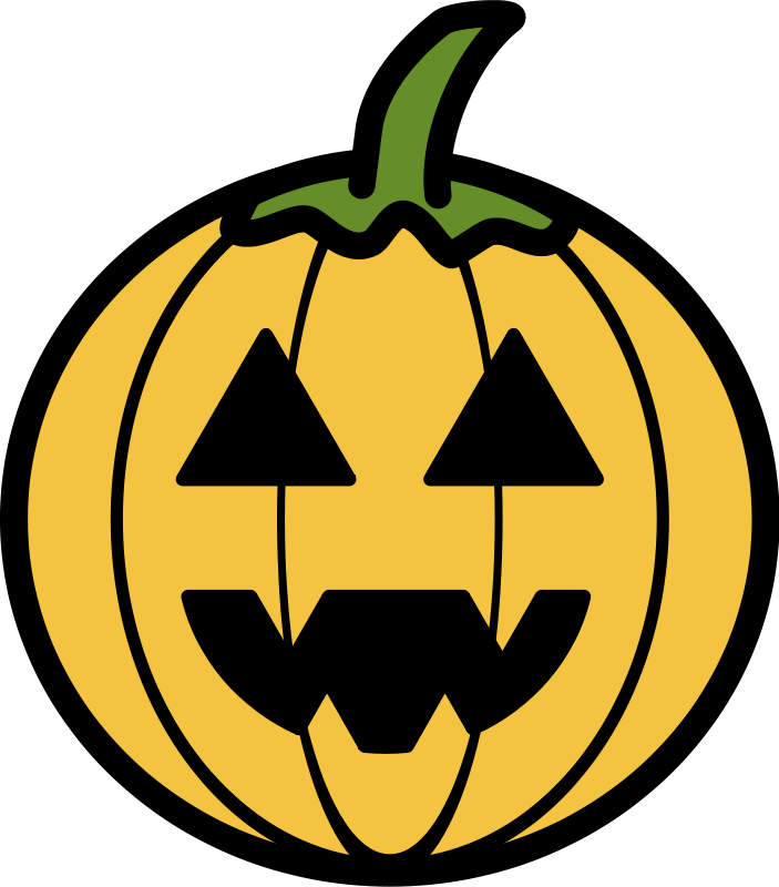 Pumpkin clipart simple. Free cute pictures download