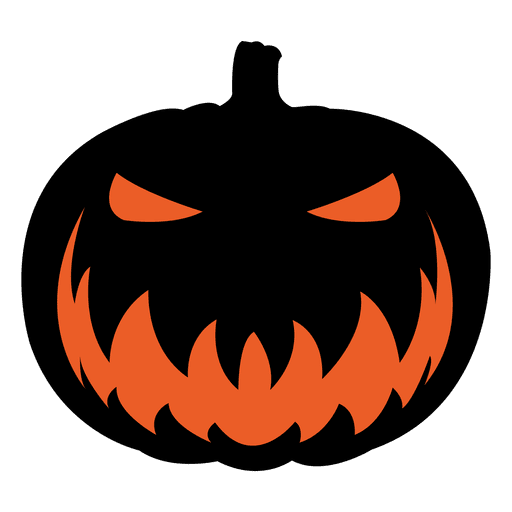 Pumpkin face png. Scary transparent svg vector