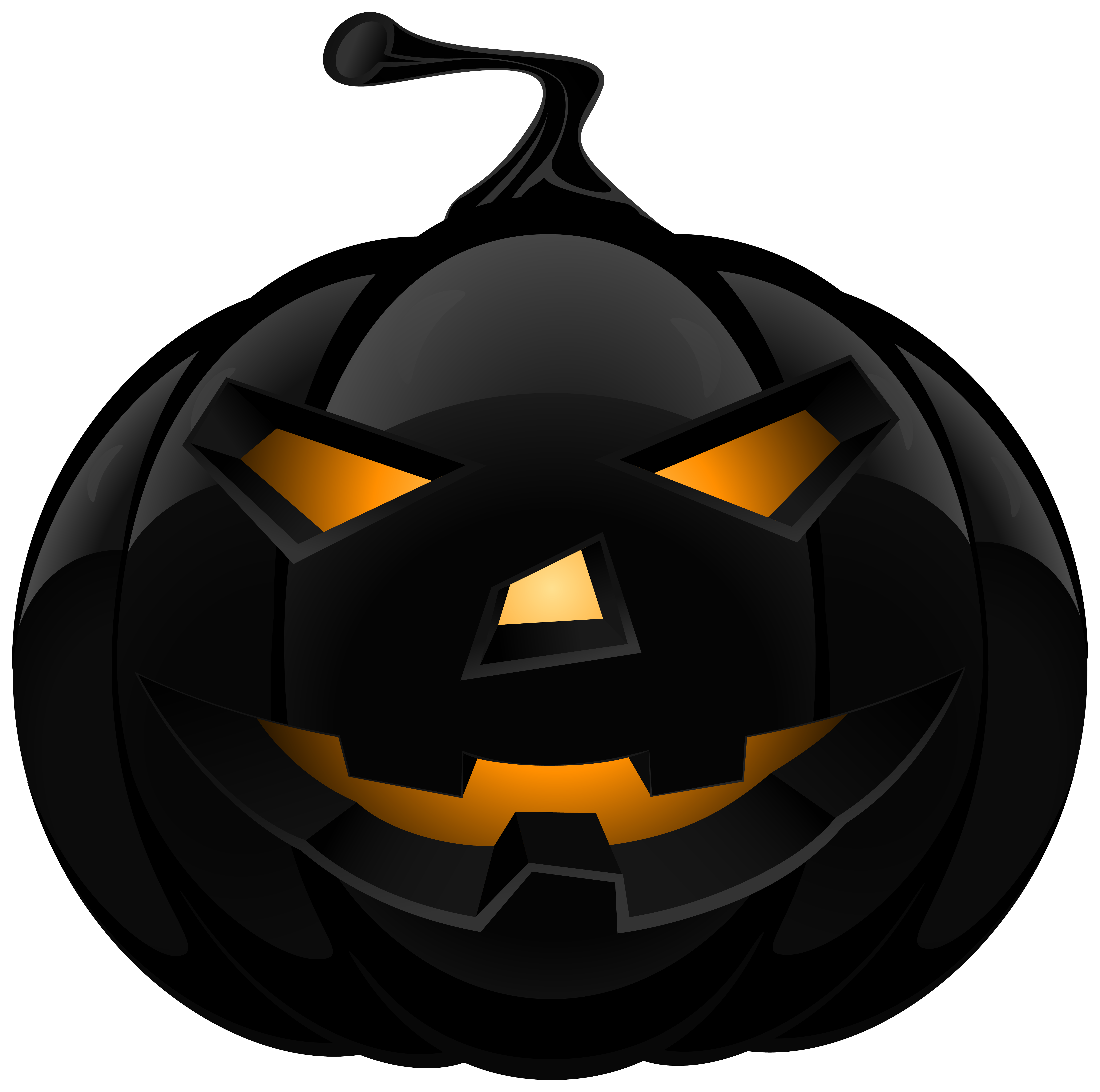 Scary clipart scary pumpkin patch. Black lantern png image