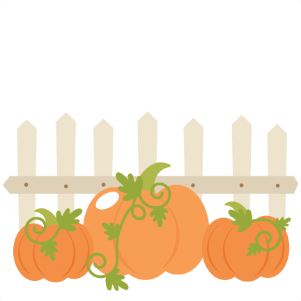 Pumpkin patch png. Pumpkins with fence svg