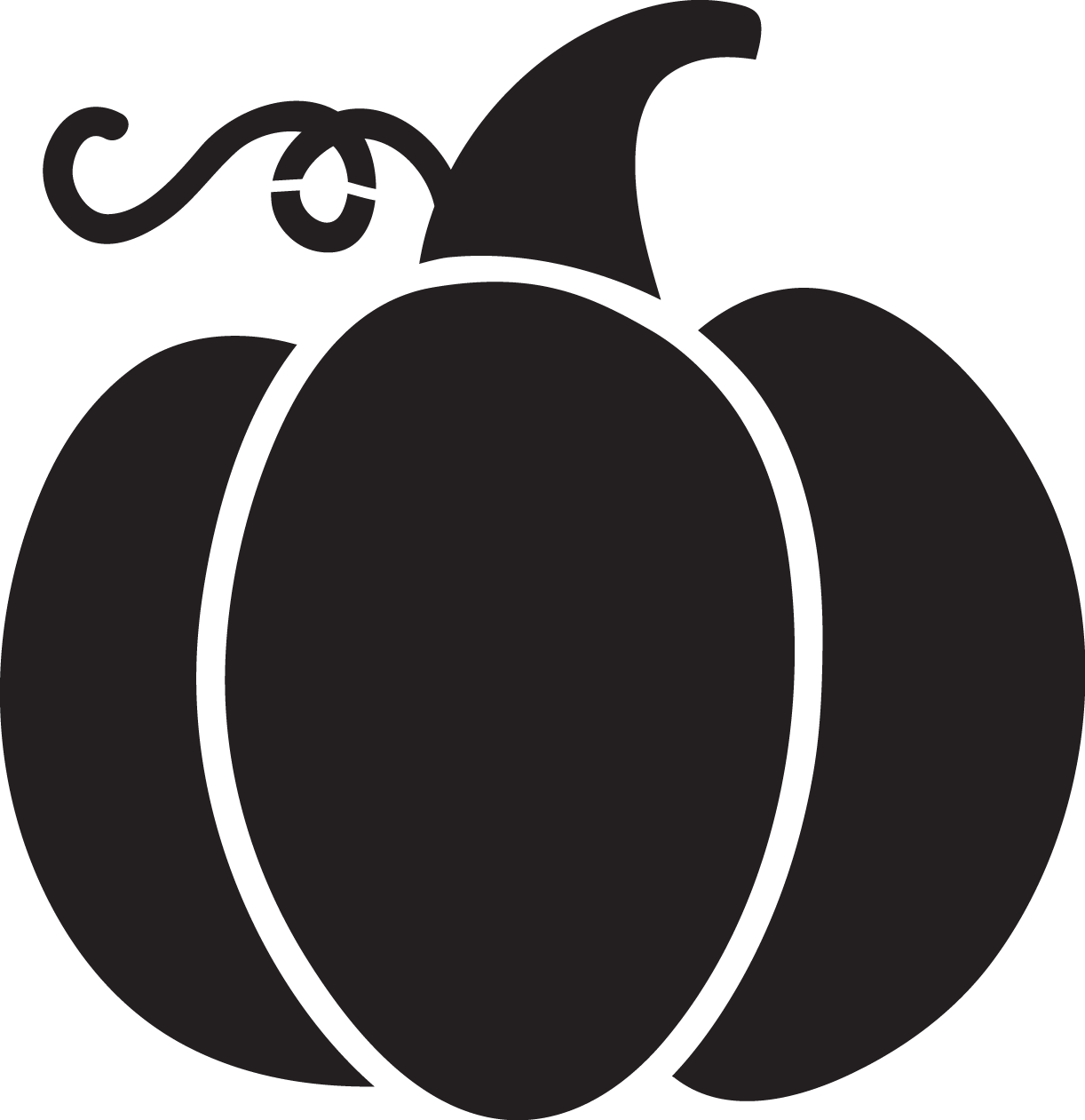Pumpkin Silhouette Png at GetDrawings
