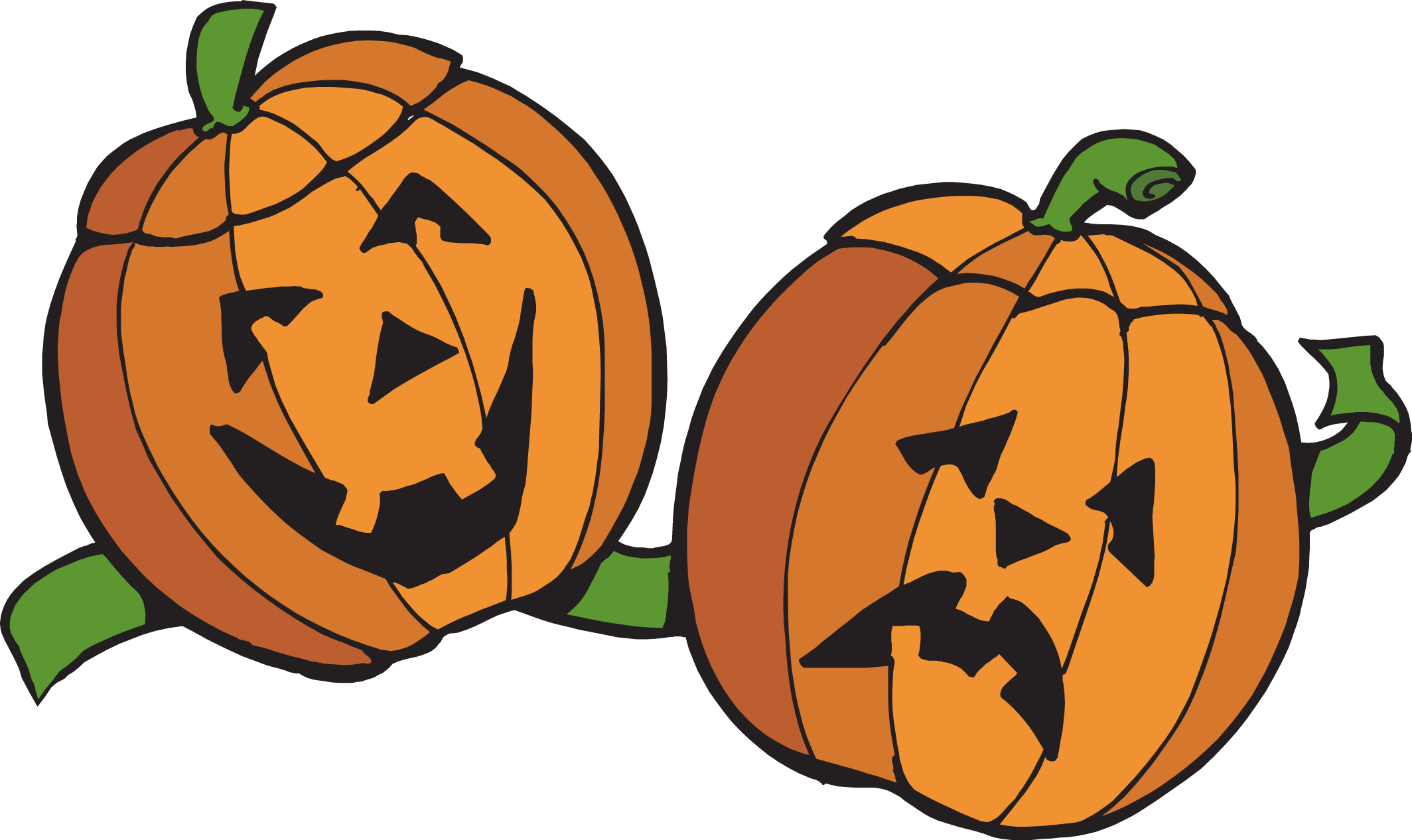 october clipart boarder