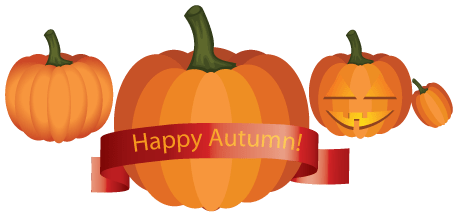 Pumpkins vector. Echostenger com create in