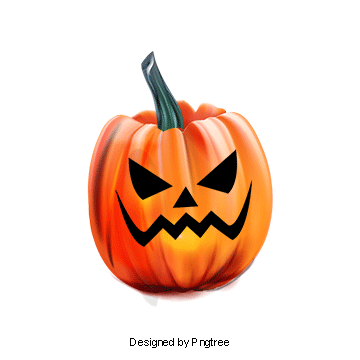Pumpkins vector colored. Halloween pumpkin png images