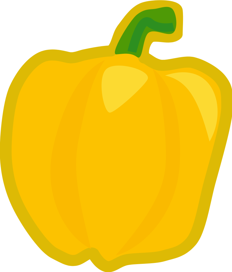 Pumpkins vector colored. Free vegetable pictures download