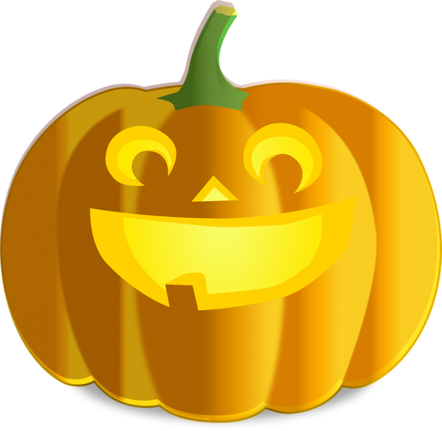 Pumpkins vector colored. Finding your corporate image