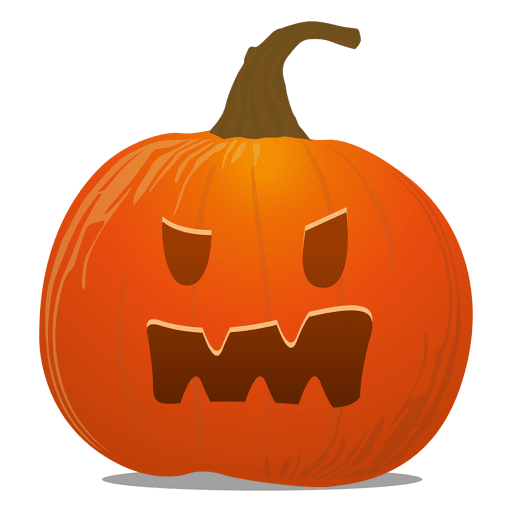 Pumpkins vector creepy. Pumpkin emoticon transparent png