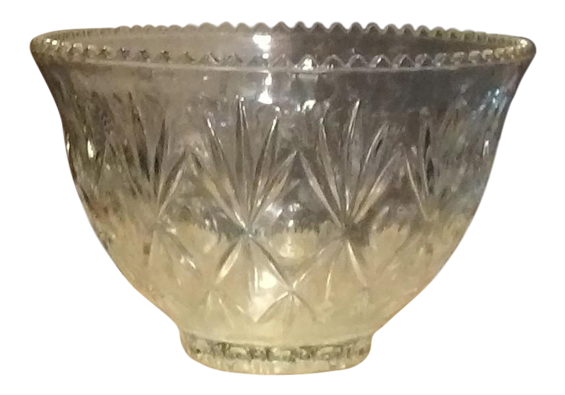 Punch bowl png. Crystal chairish