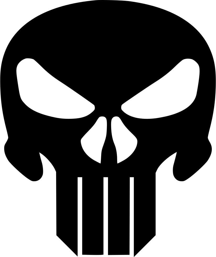Punisher. The svg png icon