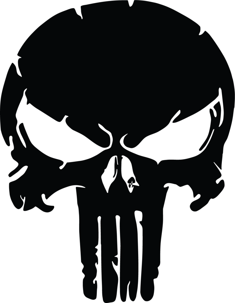 Punisher skull png. Distressed us military active