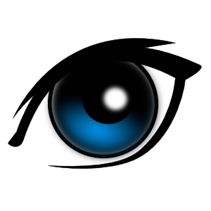 Cartoon clip art online. Colorful vector eye svg royalty free download