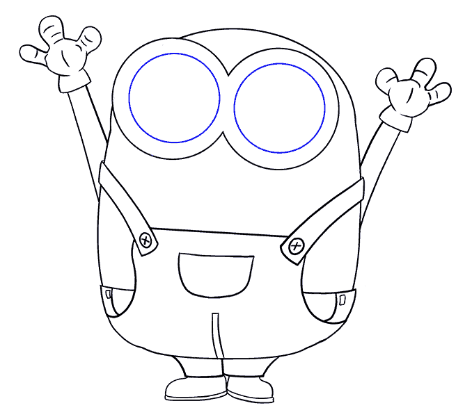 avenger drawing minion