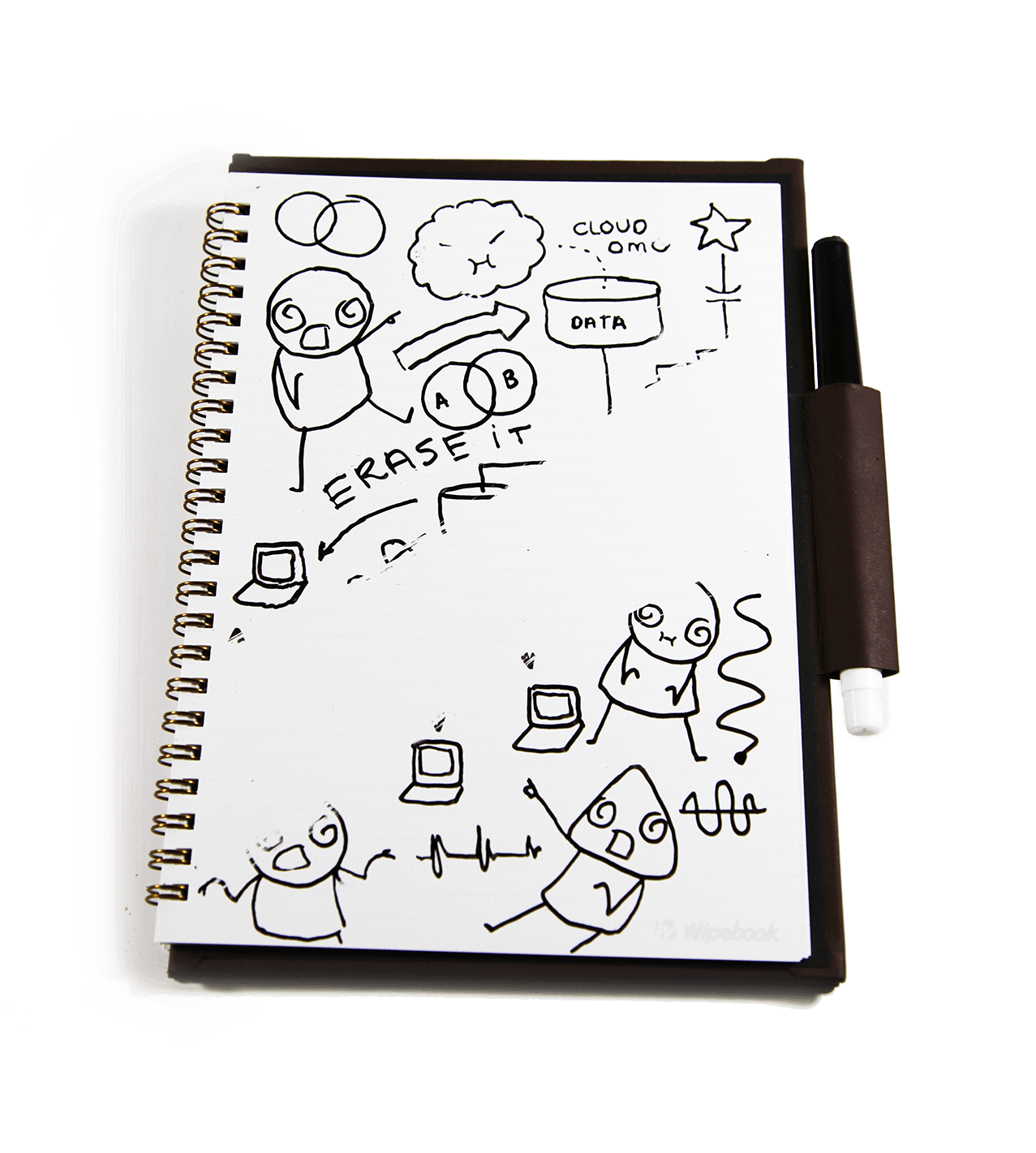 notes drawing notebook