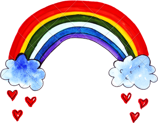 Mist drawing rainbow color. Images at getdrawings com