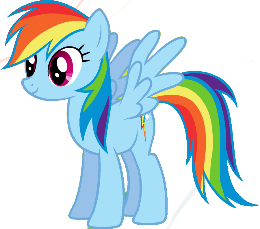 Mist drawing rainbow color. How to draw dash