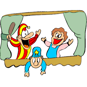 Puppet show. Clipart cliparts of free