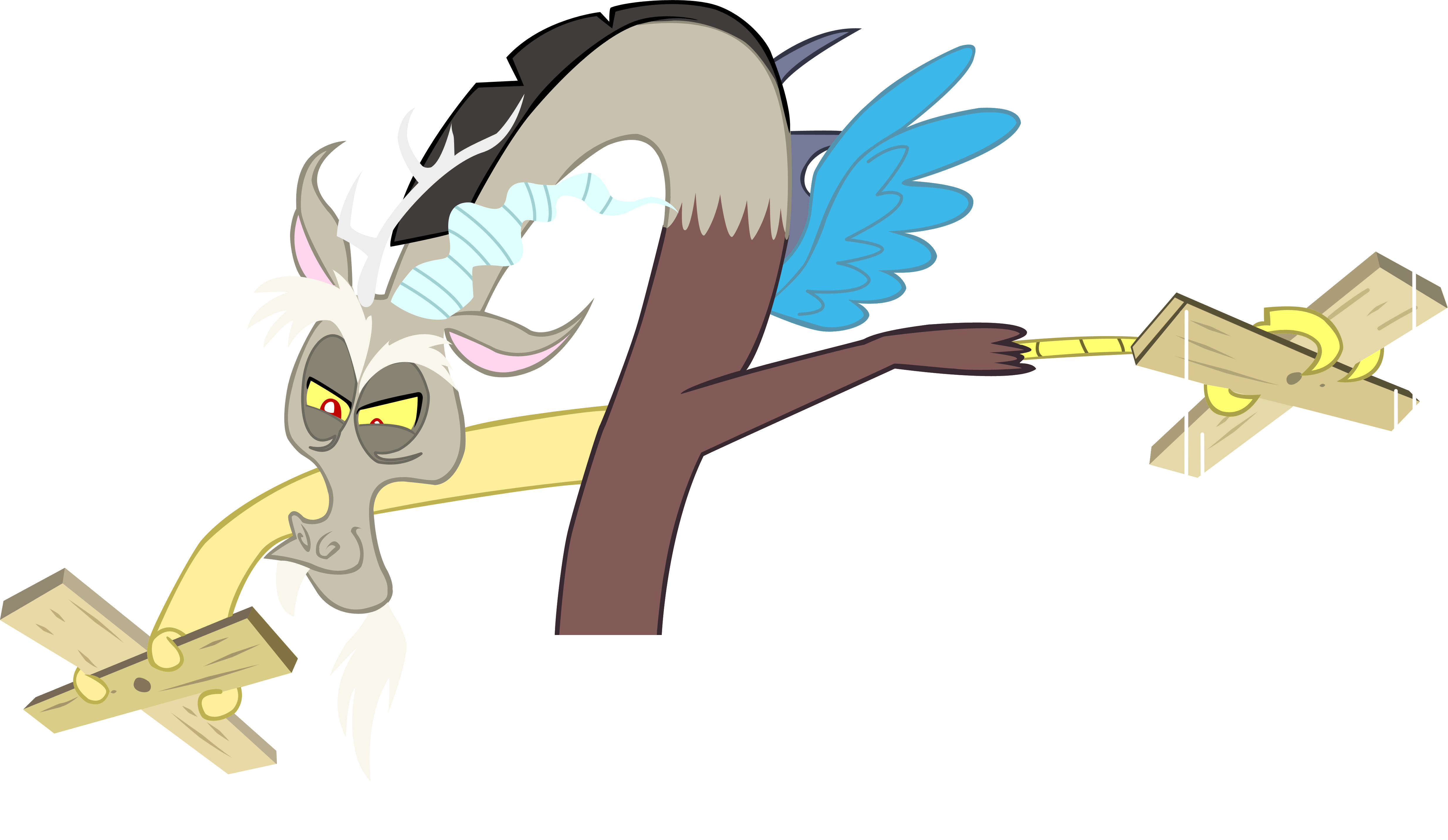 Puppeteer drawing circus master. Discord puppet by lcpsycho