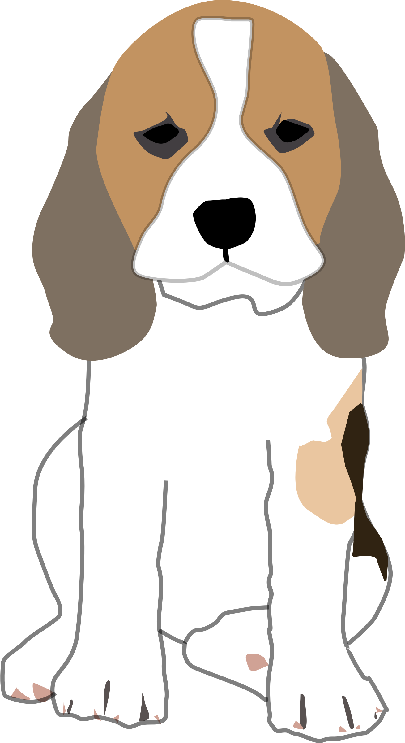 Puppies clipart beagle. Puppy big image png