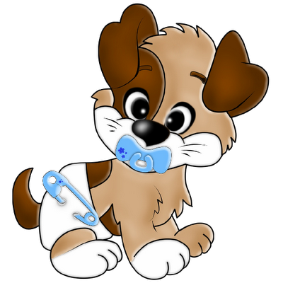 Cute puppy dogs cartoon. Doggy drawing little dog clipart royalty free library