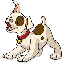 Puppy clip png. Happy icon clipart image