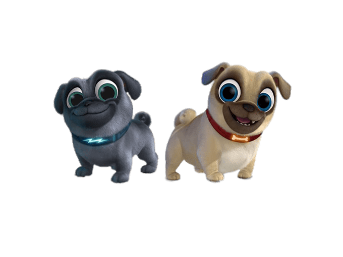 Puppy dog pals png. Transparent stickpng at the