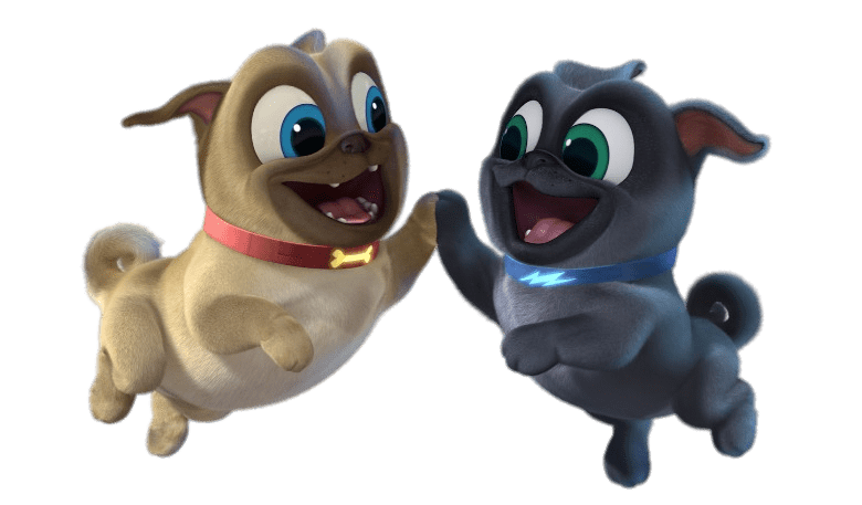 Puppy dog pals png. Download free high five